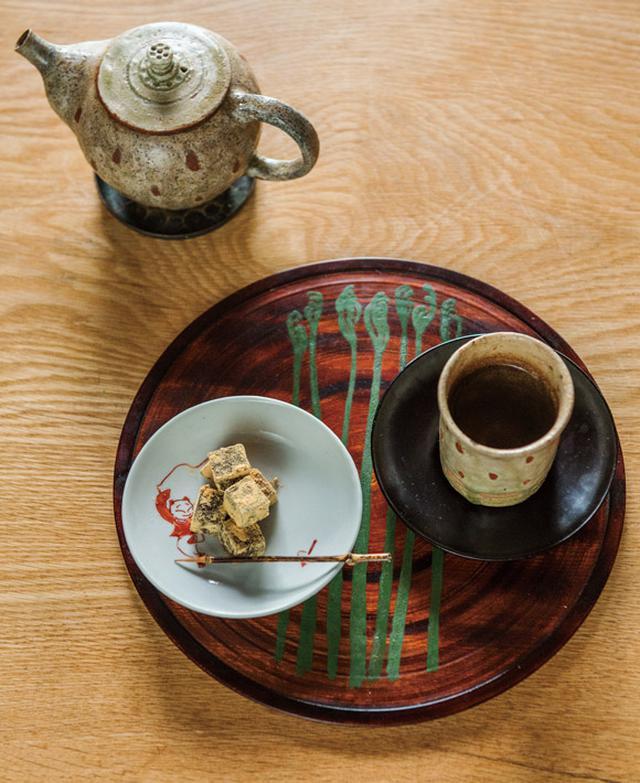 画像: 「お茶のおもてなし」・横山タカ子 信州四季暮らし