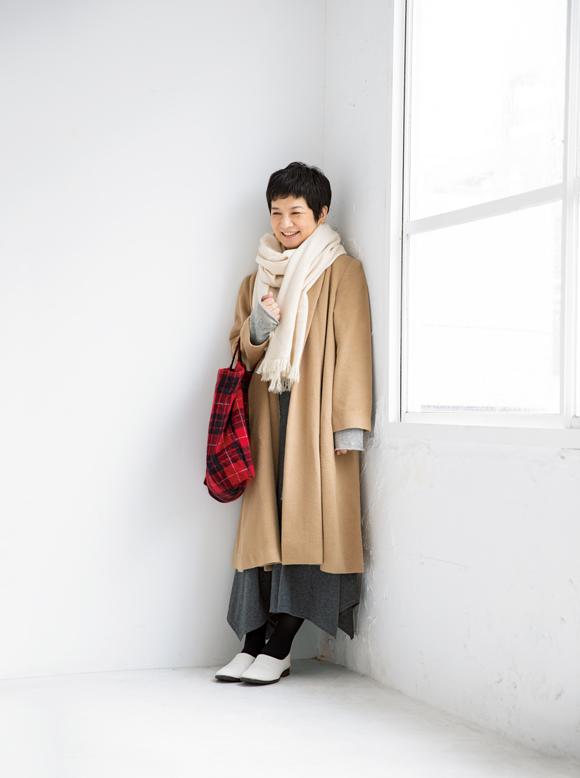 画像: 冬のはじめと本番のコート着回し術