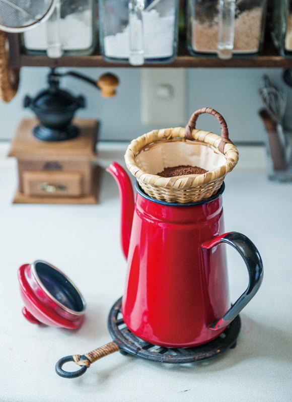 画像2: 夫とのコーヒータイム|横山タカ子 信州四季暮らし