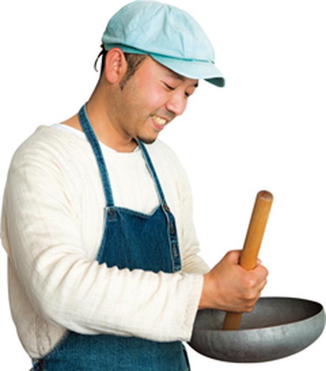 画像: 料理はまずごまをすることから!