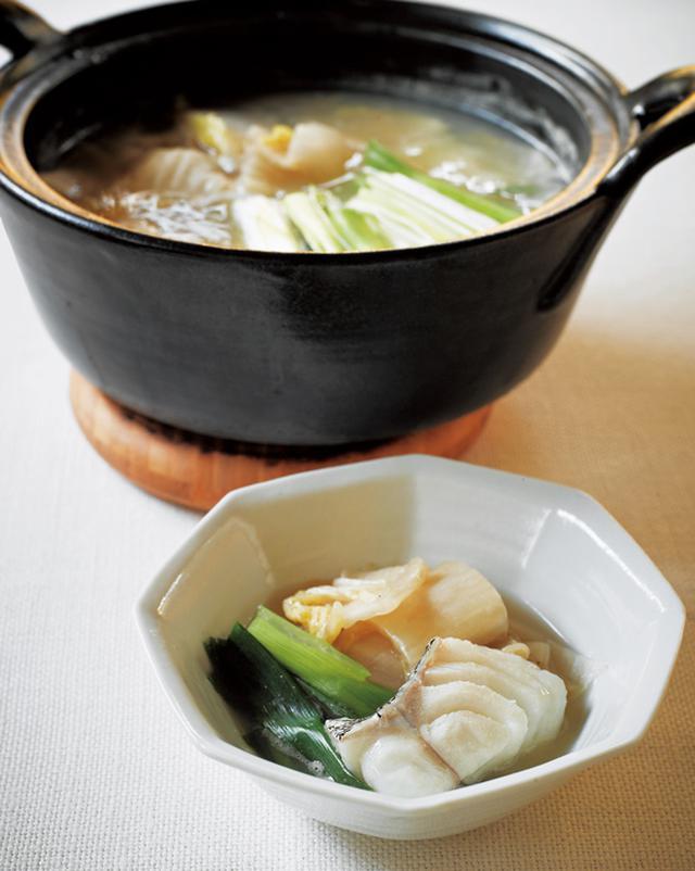 画像: 白菜漬けを使って 白菜の古漬けとたらの鍋
