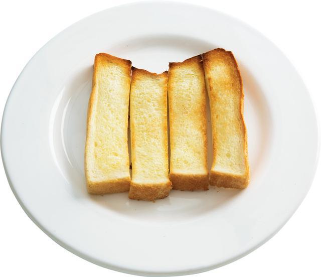 画像: 6枚切り食パンで スティックバタートースト