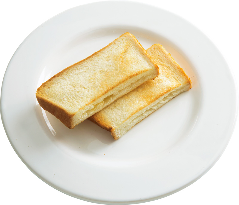 画像: 6枚切り食パンで 冷たいバタートースト