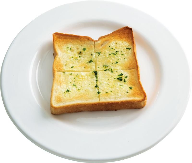 画像: ガーリックバタートースト