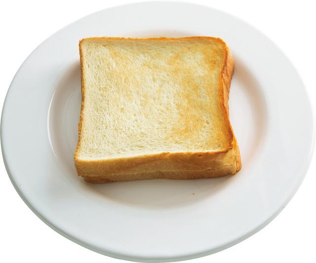 画像: 4枚切り食パンで ポケットバタートースト
