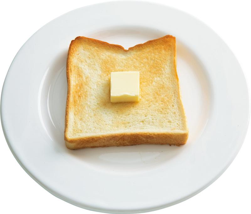画像: 6枚切り食パンで 基本のバタートースト