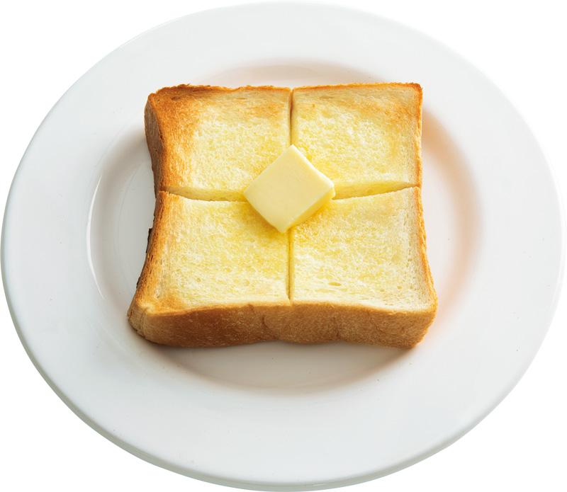 画像: 4枚切り食パンで 王道バタートースト