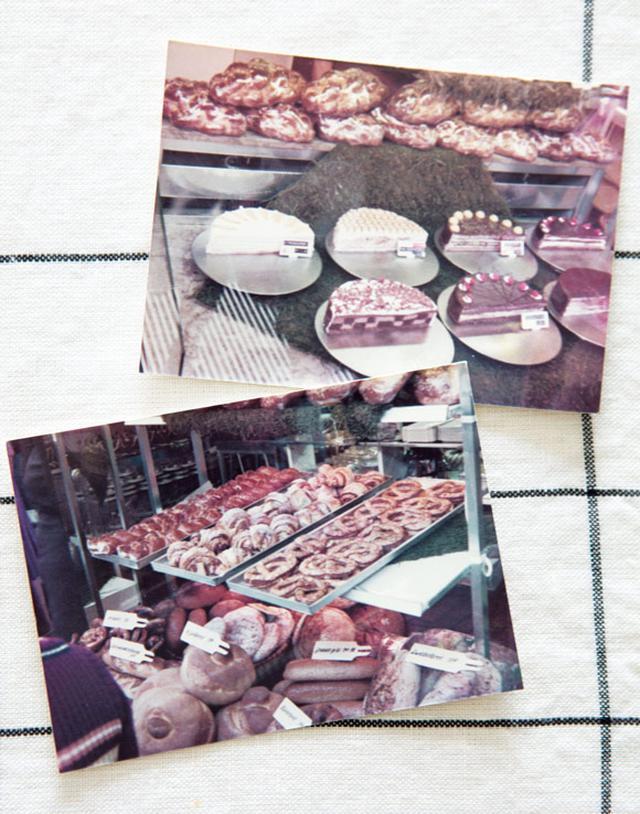 画像: もちろん、旅の間に撮った写真も保管してある。「人の写真はほとんどなくて、もっぱらマルシェやパン屋など、食べ物ばかり」