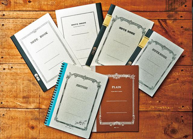 画像: 定番の大学ノート。表紙の色やデザインが豊富にそろう