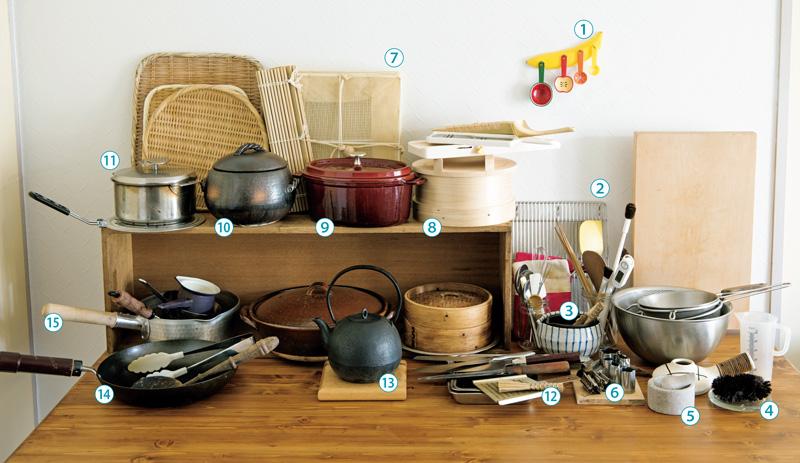 画像: ずうっと愛せる、料理道具だけを