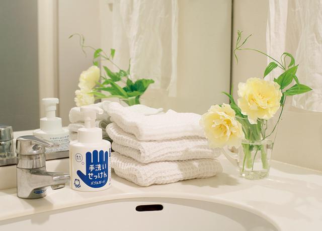 画像: どんな洗面所にもなじむシンプルなデザイン