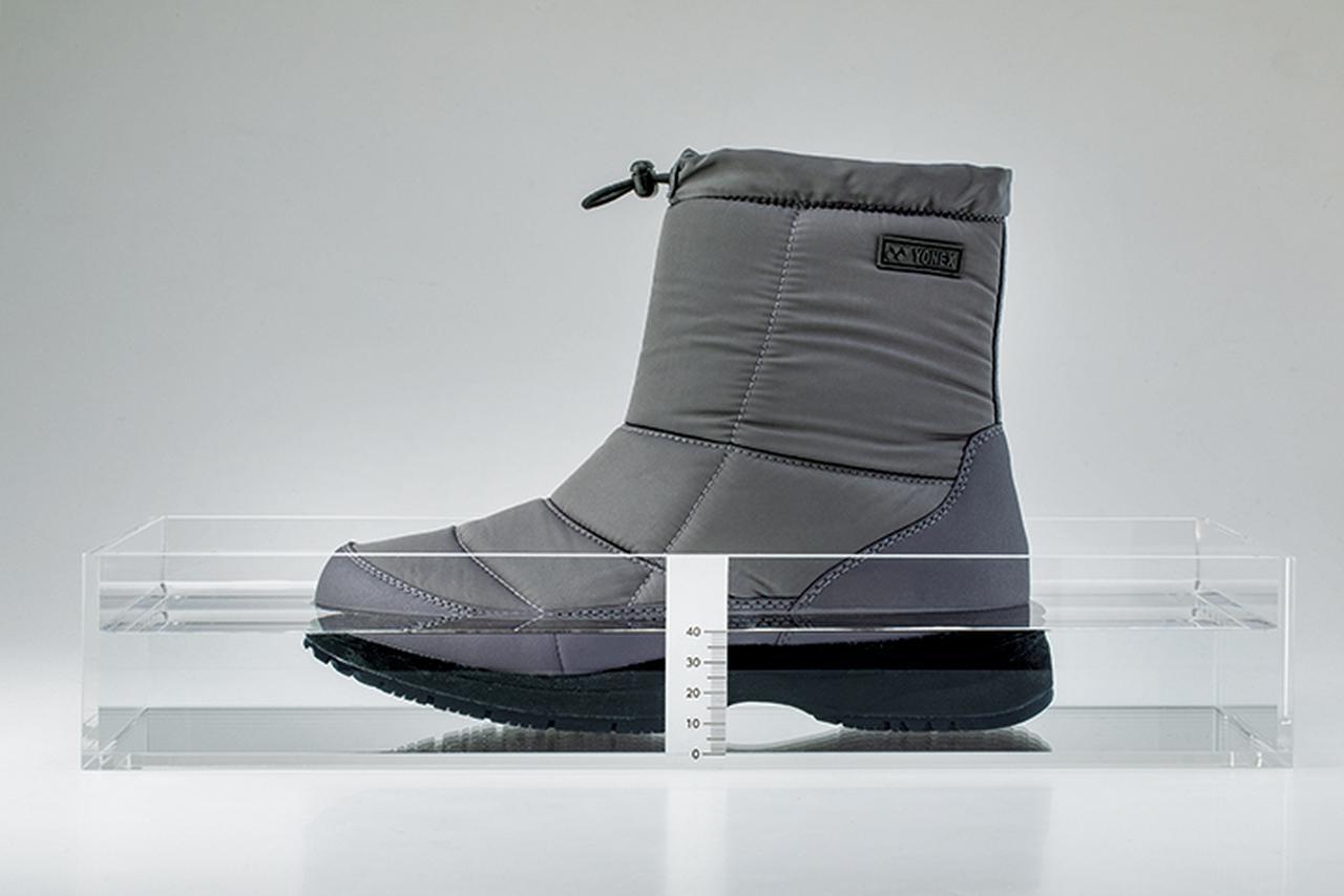 """画像: """"2 時間防水""""であったか、冬のお出かけを快適にするブーツ"""