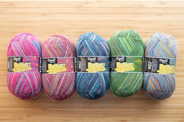 画像1: 初心者でも気軽に編める、レリーフ編みの毛糸も開発