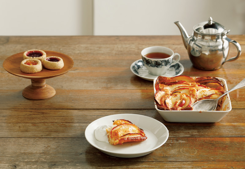 画像1: 歩粉 磯谷仁美 さんがつくる お茶の時間の、シンプルお菓子