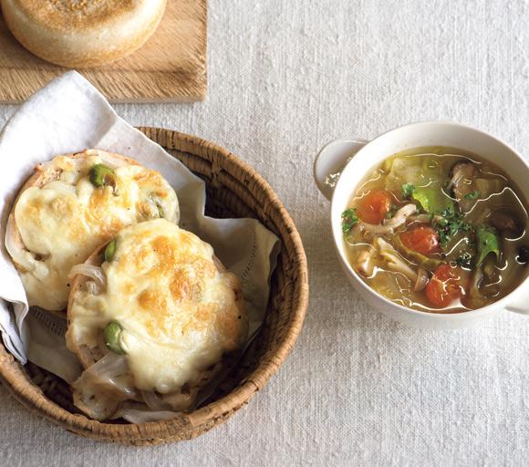 画像: 春キャベツのさっぱりスープ
