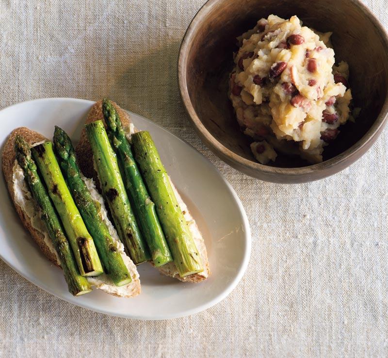 画像: 紅大豆のポテトサラダ