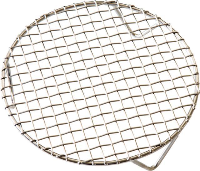 画像: 金網つじの足付き蒸し網