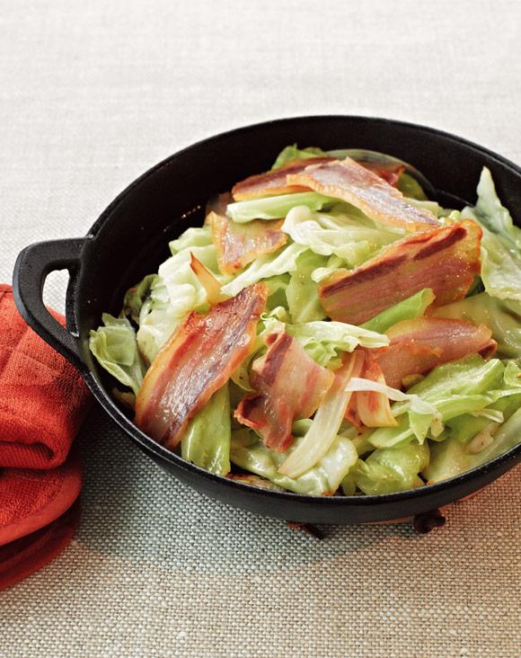 画像: 干し豚を使って 干し豚とキャベツの炒めもの