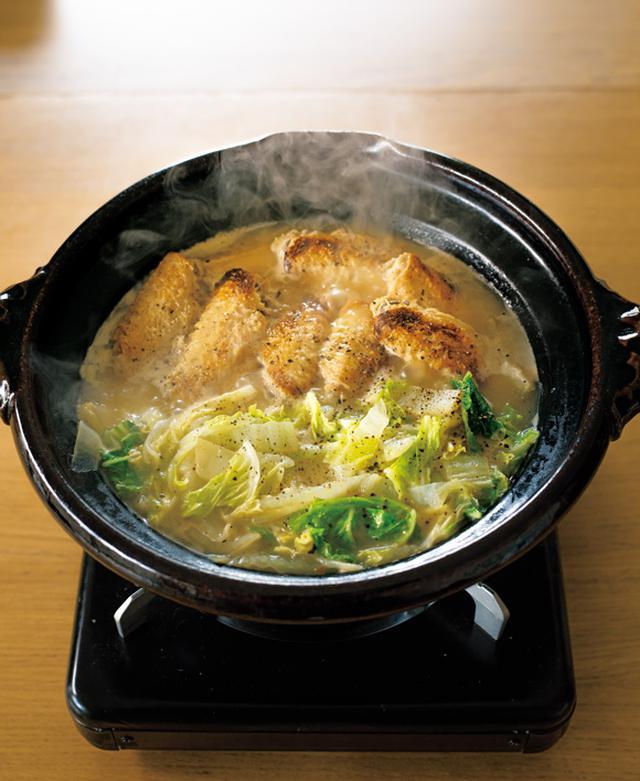 画像: とり手羽中と白菜のナンプラー煮込み鍋