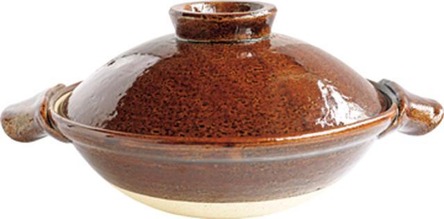 画像: かゆ用に買った小ぶりの土鍋
