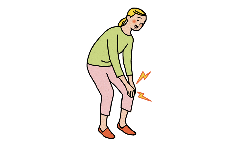 画像: 「ひざ痛」は中高年世代の国民病!?