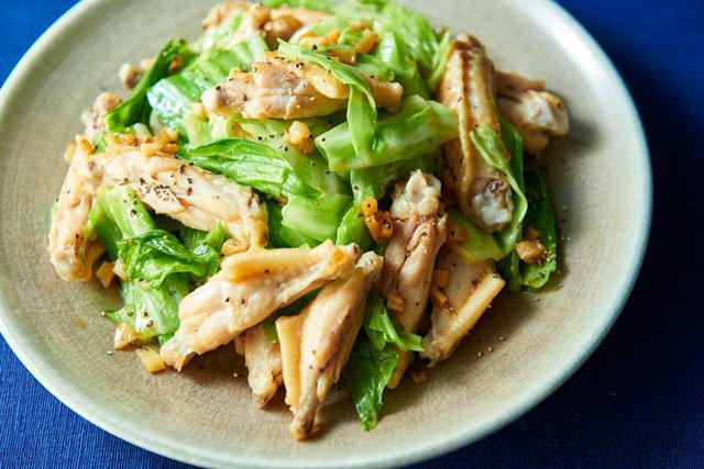 画像: 「鶏スペアリブのスタミナ炒め」