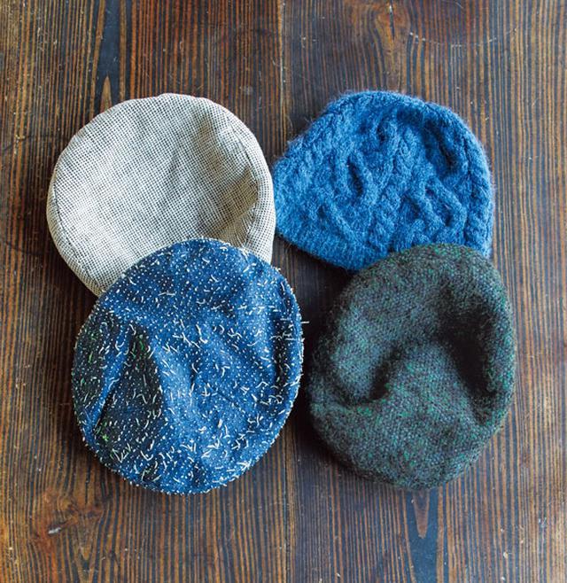 画像: かぶり心地が決め手の、ベレー帽コレクション