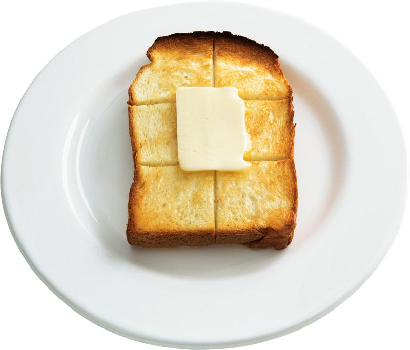 画像: イギリスパンで 基本のバタートースト