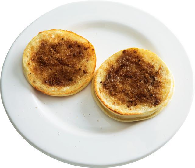画像: イングリッシュマフィンで 黒糖バタートースト