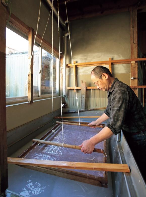 画像: すげたを動かす音は、環境省の「残したい日本の音風景100選」のひとつに