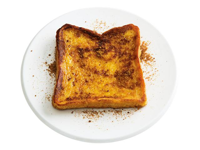 画像: 6枚切り食パンで 黒糖フレンチトースト