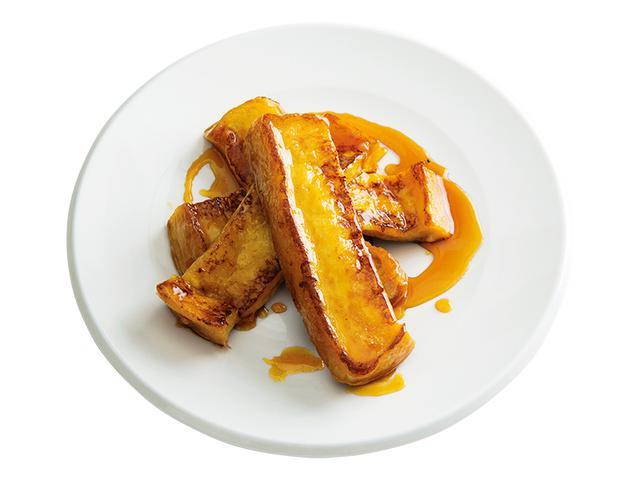 画像1: 6枚切り食パンで カラメルフレンチトースト