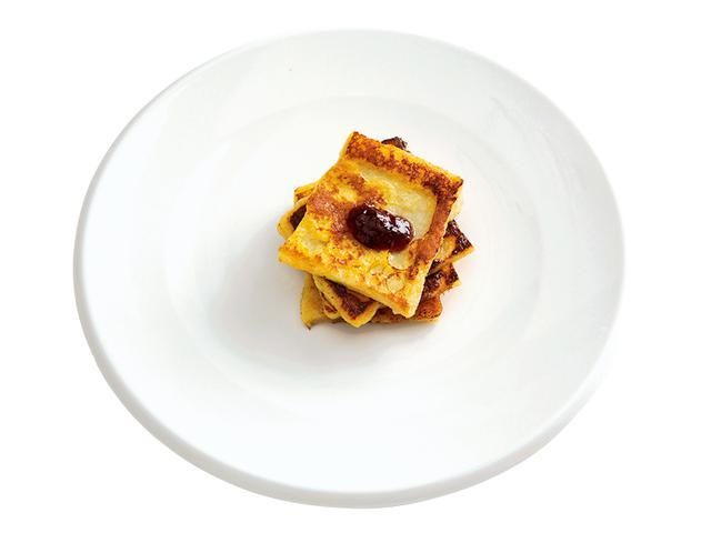 画像: 8枚切り食パンで ミルフィーユフレンチトースト