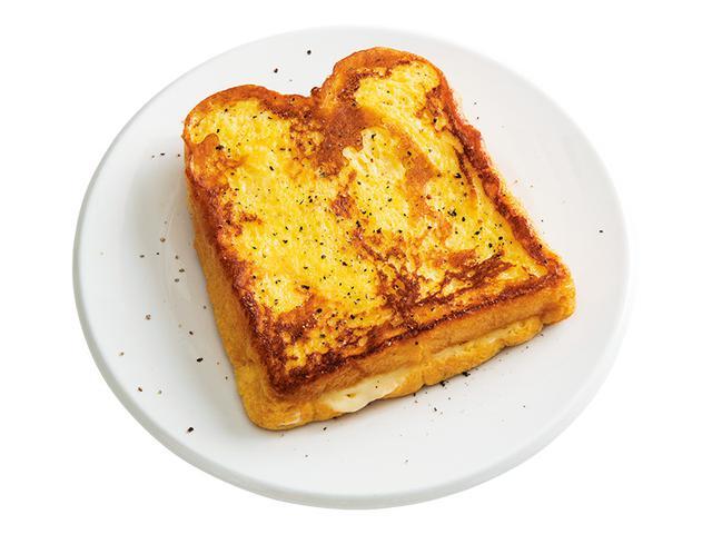 画像: 4枚切り食パンで チーズのフレンチトースト