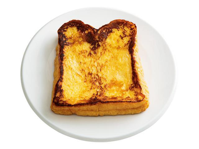 画像: 4枚切り食パンで しみしみバターのフレンチトースト