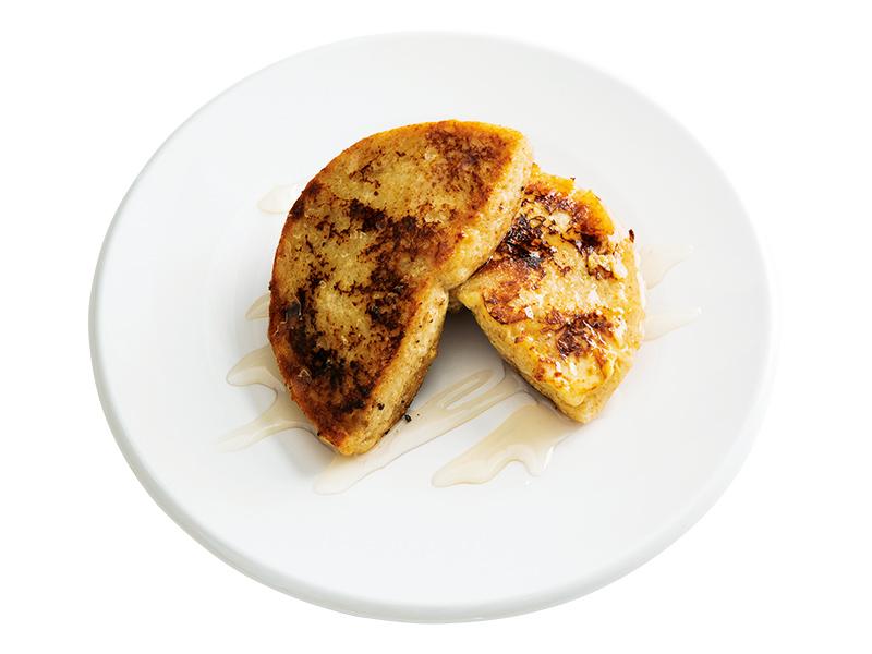 画像: ベーグルで ベーグルフレンチトースト