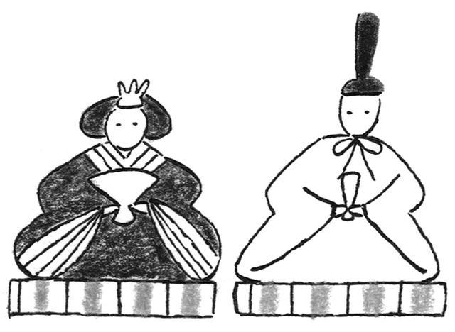 画像: 弥生 雛祭り