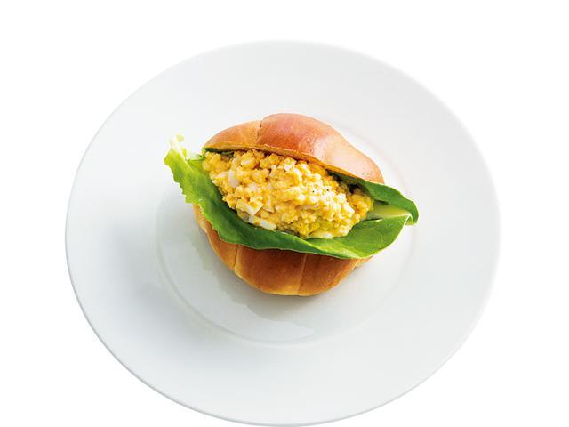 画像: ロールパンで 豆乳玉子サンド