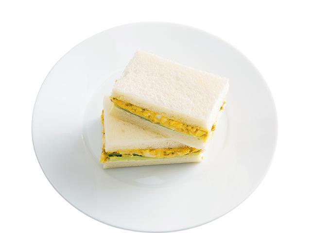 画像: 8枚切り食パン2枚で のり玉サンド
