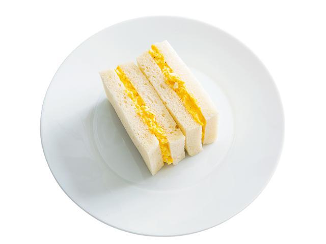 画像: 8枚切り食パンで 基本の玉子サンド