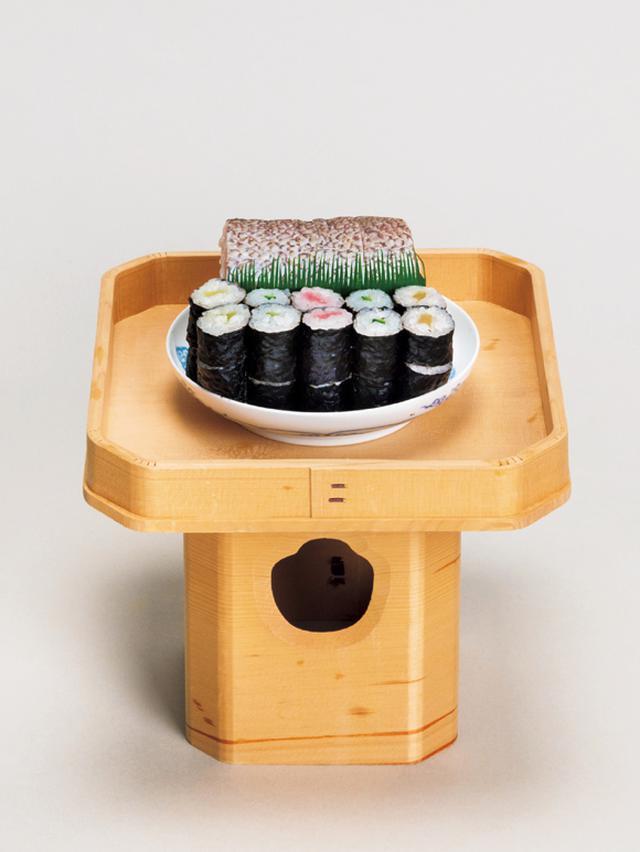 画像: 寿司[海苔巻 鯛押寿司]