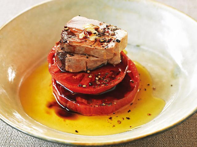 画像: なまり節を使って なまり節とトマトのオリーブオイルあえ
