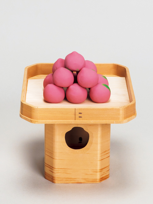 画像: 桃型