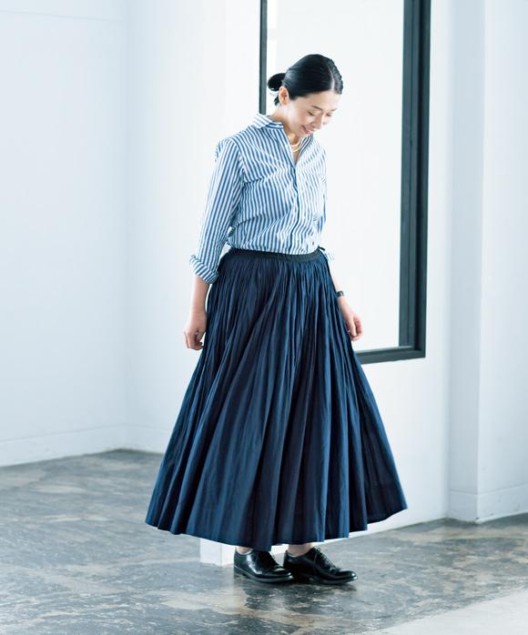 画像: はな さん、 板倉直子 さん 春のおしゃれ、私はここから
