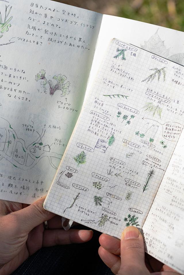 画像: 気になったらすぐに書き留められるよう、ポケットに入るサイズのノートを愛用