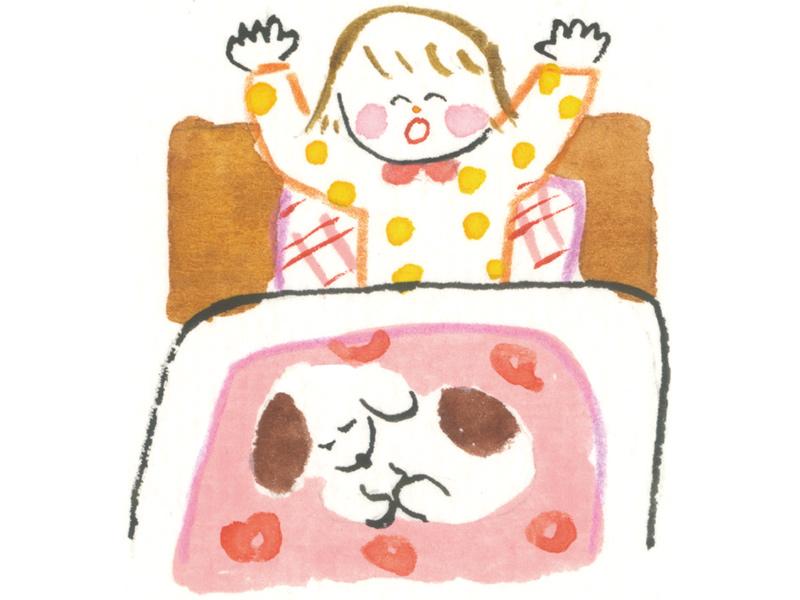 画像: 早寝早起き病知らず