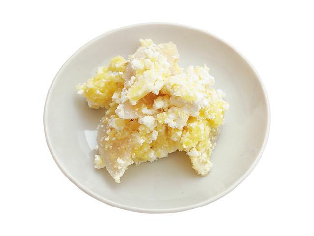 画像: アレンジ① チーズとれんこん入りマッシュポテト