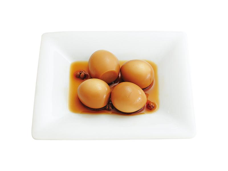 画像: うずらの味つけ卵