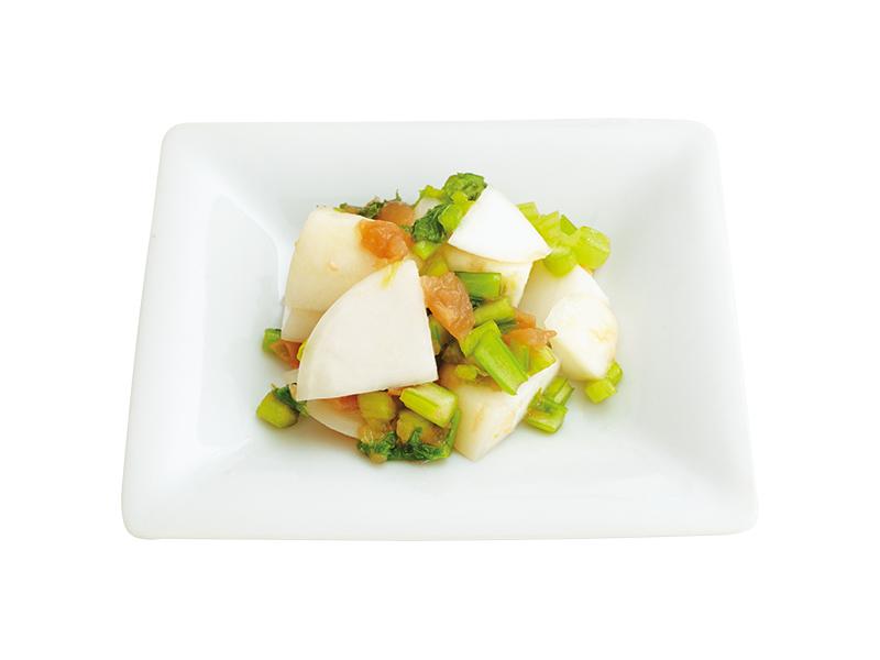 画像: 蒸し野菜の梅あえ