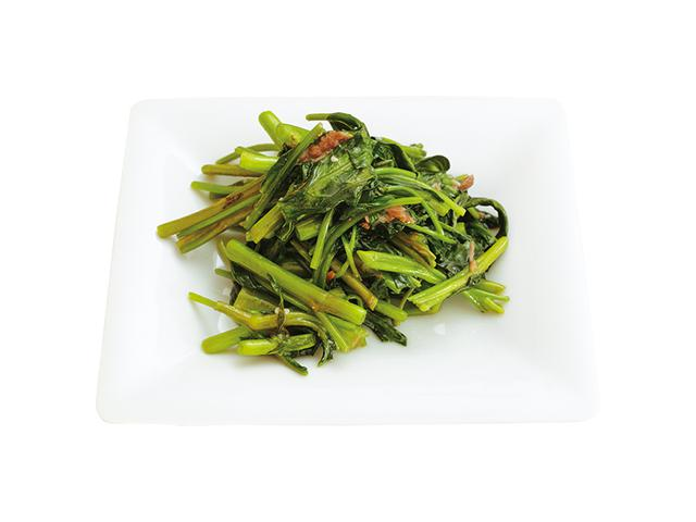 画像: 空芯菜のアンチョビ炒め